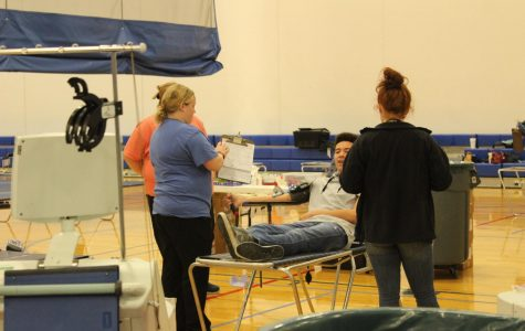 Fall blood drive came to Marshfield High School