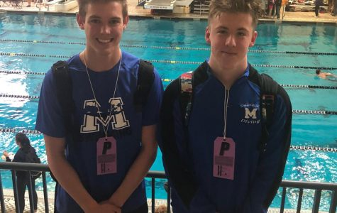 Swimmers Splash at State