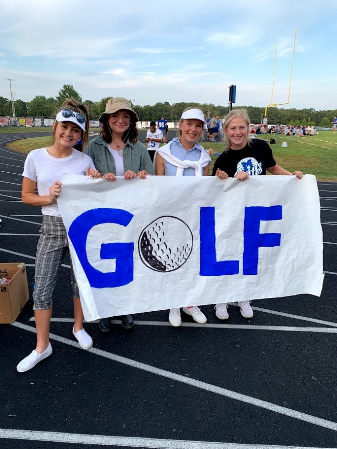Girls Golf Ends
