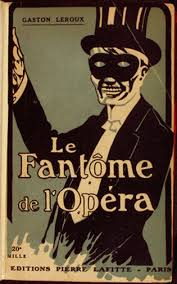 Original French cover of the Phantom book